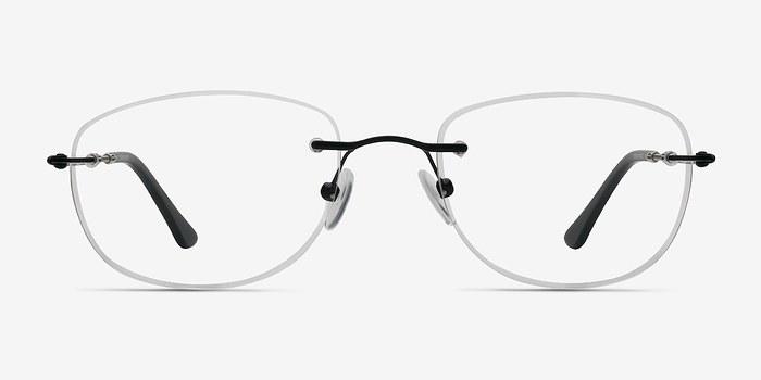 Black Potential -  Lightweight Metal Eyeglasses