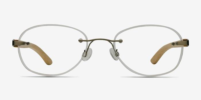 Silver Yellow Fragment -  Lightweight Eyeglasses