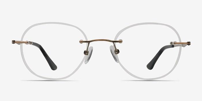 Bronze Fuse -  Lightweight Metal Eyeglasses