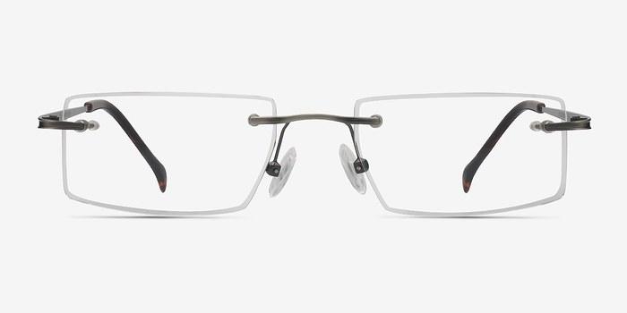 Gunmetal Pilgrim -  Lightweight Metal Eyeglasses