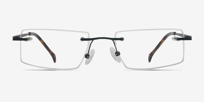 Black  Pilgrim -  Lightweight Metal Eyeglasses