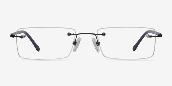 Navy Glacon -  Lightweight Metal Eyeglasses