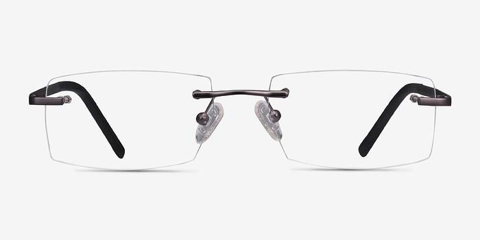 Gunmetal Collector -  Metal Eyeglasses