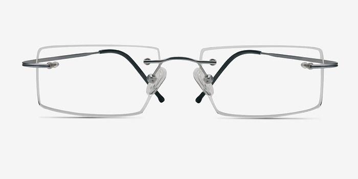 Gray Divide -  Lightweight Titanium Eyeglasses