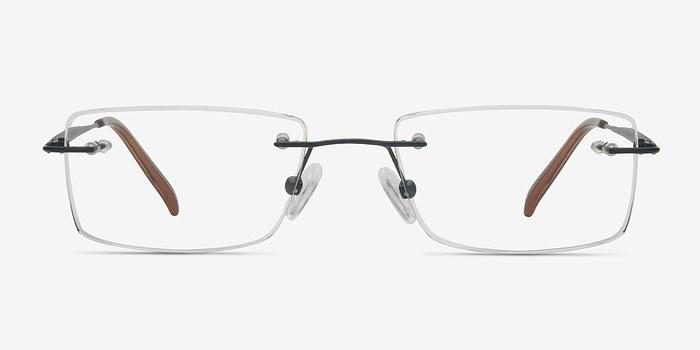Black Wheeler -  Lightweight Titanium Eyeglasses