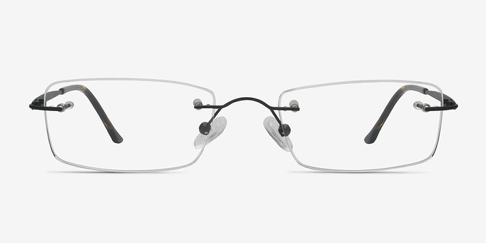 Black Diffuse -  Lightweight Titanium Eyeglasses