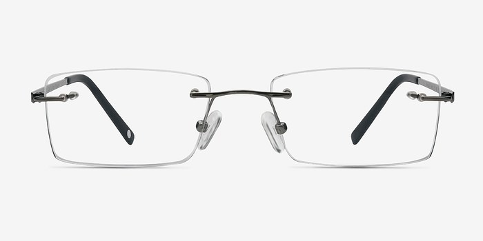 Silver Pinnacle -  Lightweight Titanium Eyeglasses