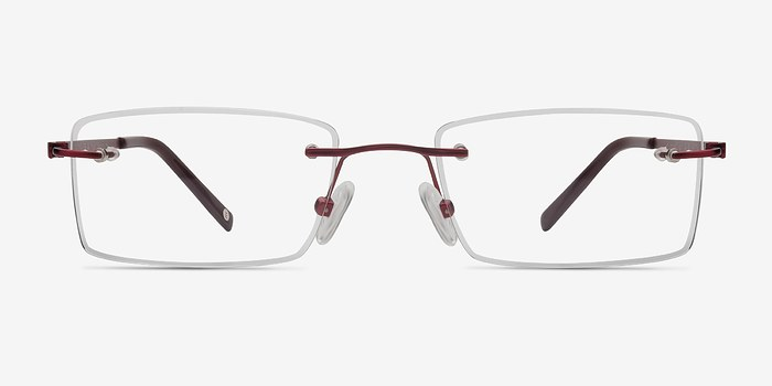 Red Pinnacle -  Lightweight Titanium Eyeglasses