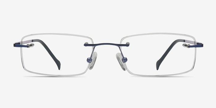 Navy Paragon -  Lightweight Titanium Eyeglasses