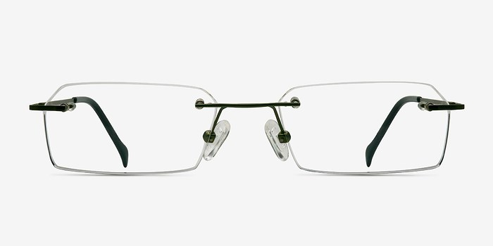 Green Floe -  Lightweight Titanium Eyeglasses