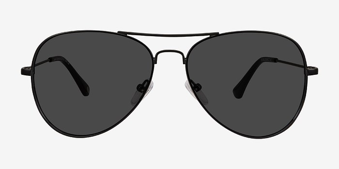 Black Good vibrations -  Metal Sunglasses