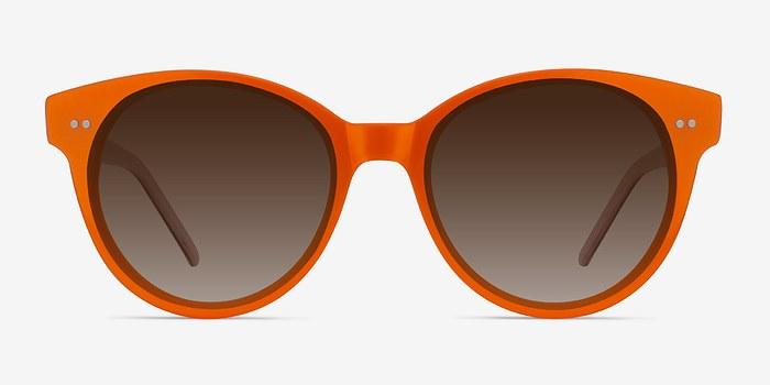 Orange Angie -  Acetate Sunglasses