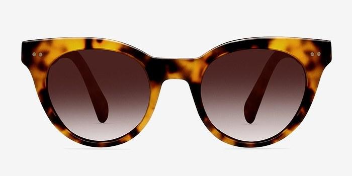 Brown/Tortoise Divine -  Plastic Sunglasses