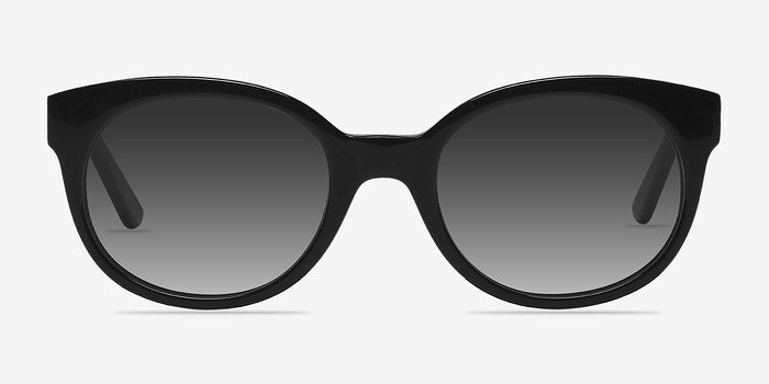 Black Matilda -  Plastic Sunglasses