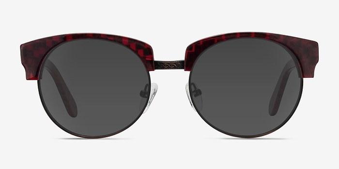 Red Simone -  Plastic Sunglasses