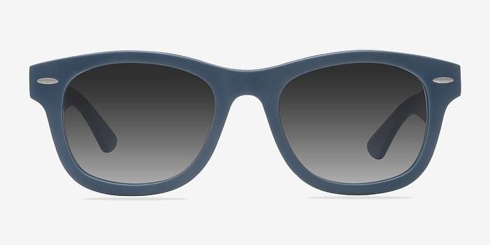 Matte Blue Hanoi -  Acetate Sunglasses