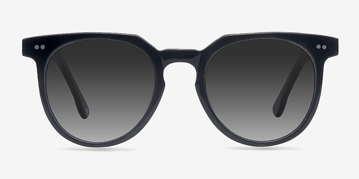 Jet Black Shadow -  Acetate Sunglasses