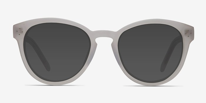 White Clear Augustine -  Acetate Sunglasses