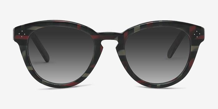 Floral Augustine -  Acetate Sunglasses