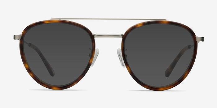 Tortoise Brookline -  Acetate Sunglasses