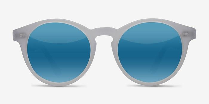Matte Clear Havana -  Acetate Sunglasses