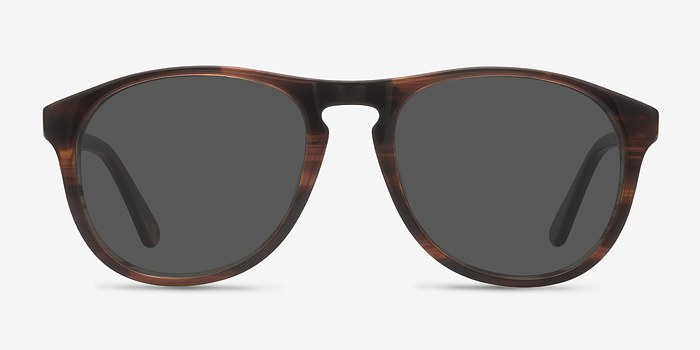 Brown Silt -  Acetate Sunglasses