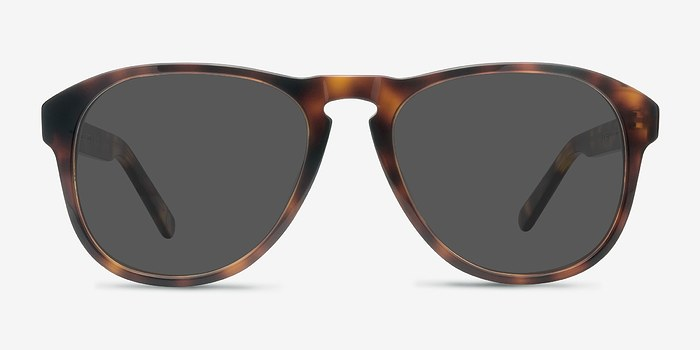 Tortoise Phased -  Acetate Sunglasses