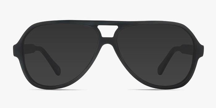 Dark Green Americana -  Acetate Sunglasses