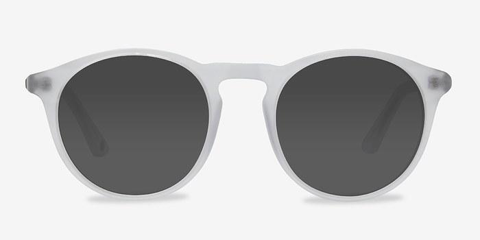 Matte Clear Air -  Acetate Sunglasses
