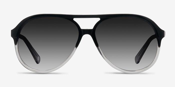 Black Clear Jakarta -  Acetate Sunglasses