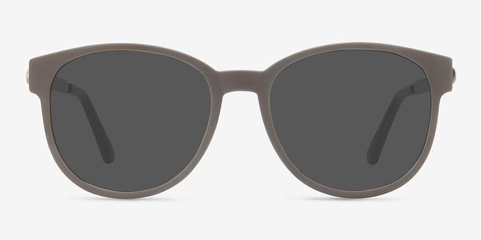Dark Green Terracotta -  Plastic Sunglasses