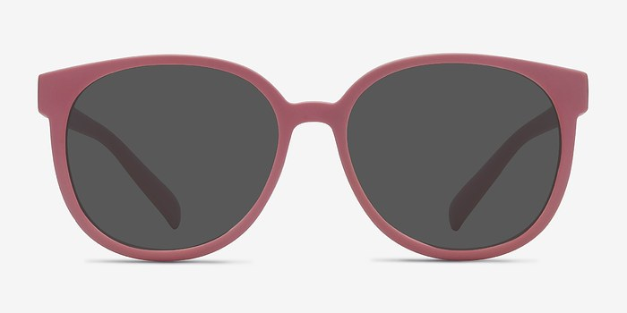 Matte Pink Dundee -  Plastic Sunglasses