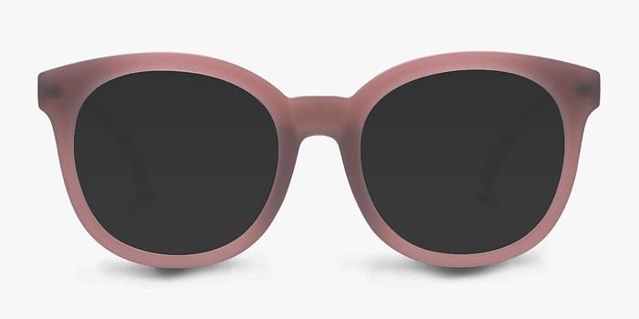Matte Brown Elena -  Plastic Sunglasses