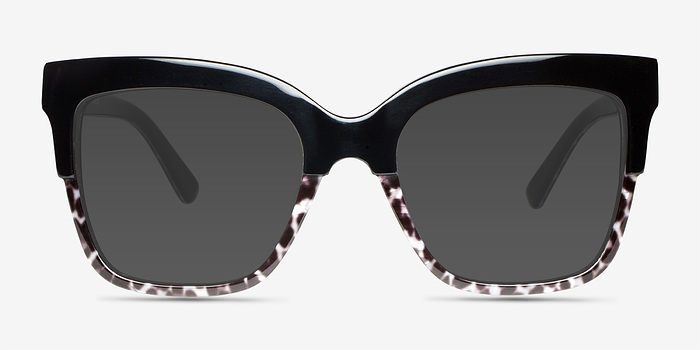 Black Leopard Intrigue -  Acetate Sunglasses
