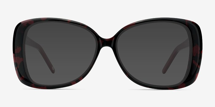 Black Red Marilyn -  Acetate Sunglasses