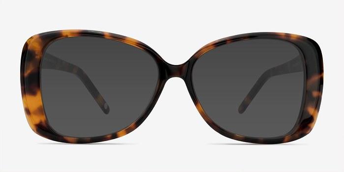 Tortoise Marilyn -  Acetate Sunglasses
