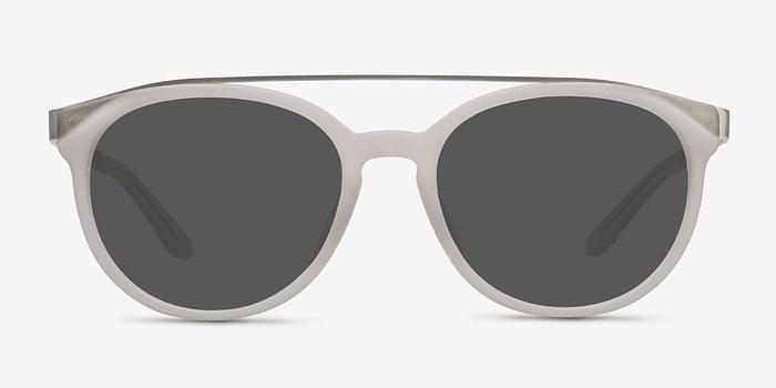 Matte White Morning Breeze -  Acetate Sunglasses