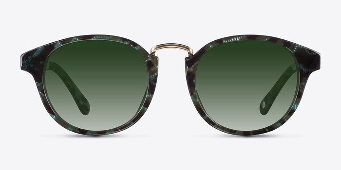 Green Major -  Acetate Sunglasses