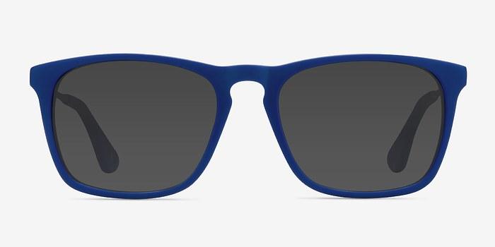 Matte Blue Bogota -  Acetate Sunglasses
