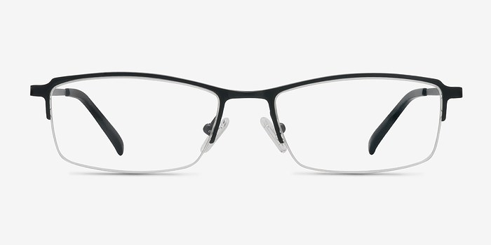 Black Hatch -  Lightweight Titanium Eyeglasses