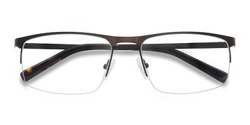 Brown Wayne -  Metal Eyeglasses