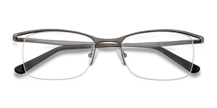 Gunmetal Vespid -  Metal Eyeglasses
