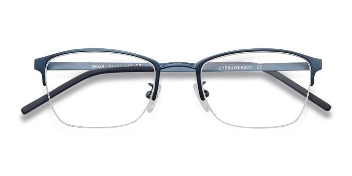Navy Argil -  Colorful Metal Eyeglasses