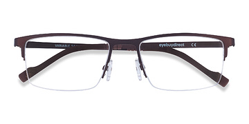 Brown Variable -  Metal Eyeglasses