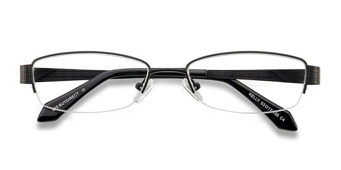 Black Kelly -  Metal Eyeglasses