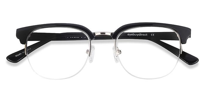 Black  Genbu -  Vintage Acetate Eyeglasses