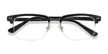 Black Kurma -  Acetate Eyeglasses