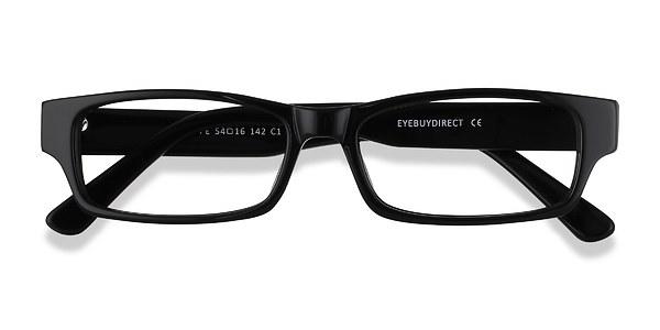 Dieppe prescription eyeglasses (Black)