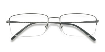 Gunmetal Kanick -  Designer Titanium Eyeglasses