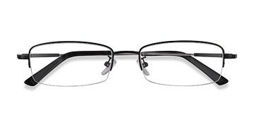 Black Penticton -  Classic Metal Eyeglasses